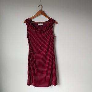 Loft▪Gathered Tank-Top Dress